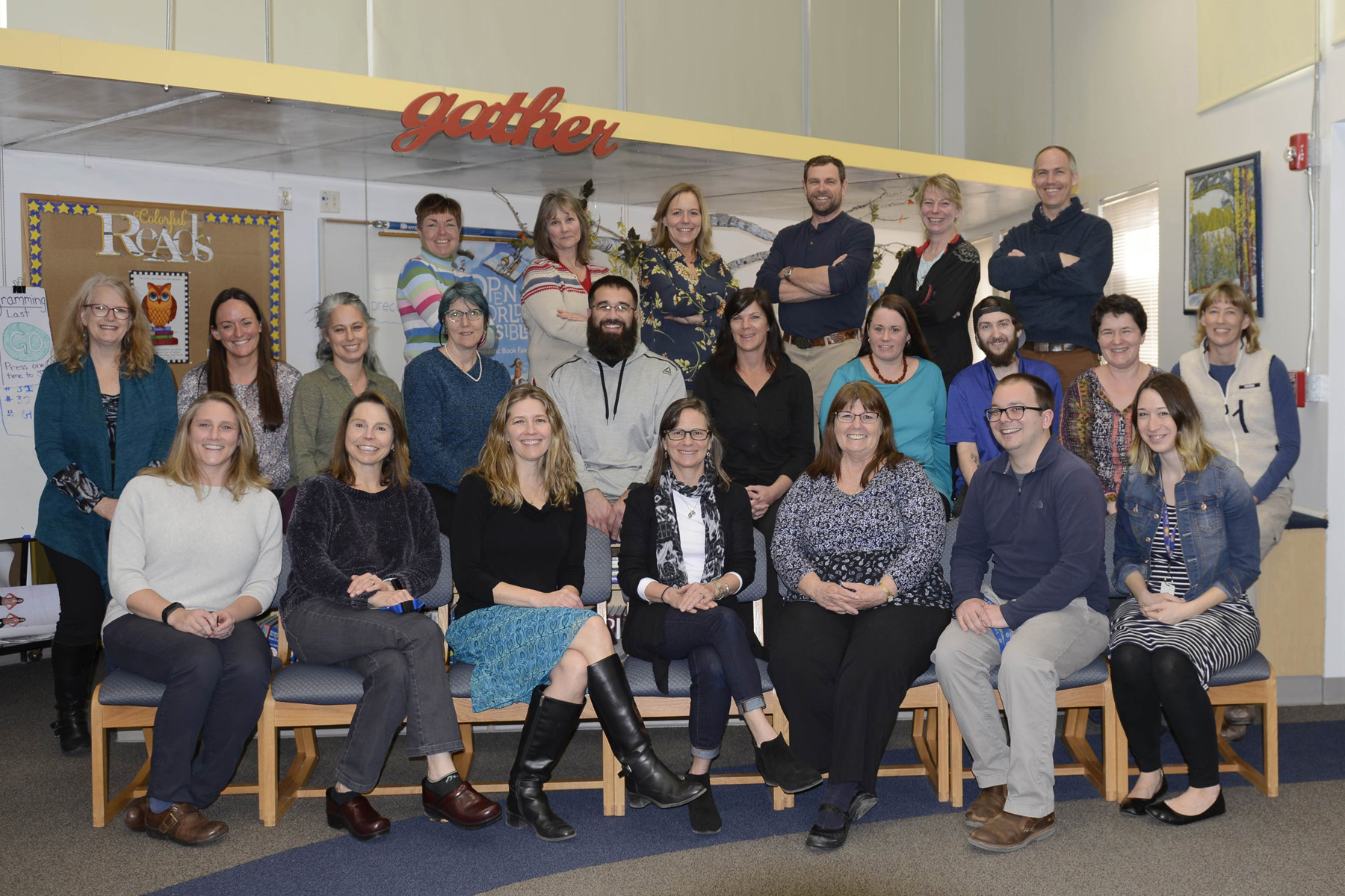 Lyons Elementary School Staff Photo